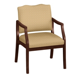 Arm Chair in Fabric or Vinyl with 400lb Weight Capacity, 75013