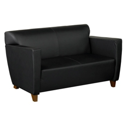 Leather Loveseat, 75032