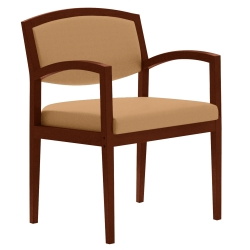 Vinyl Open Back Guest Chair, 75074