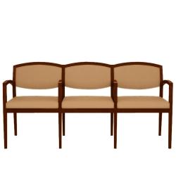 Vinyl 3-Seat Sofa, 75077