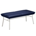 Uptown Two-Seat Bench in Standard Fabric, 75225