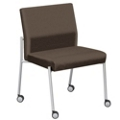 Uptown Oversized Chair with Casters in Standard Fabric, 75257