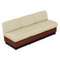 Vinyl Modular Sofa, 75279