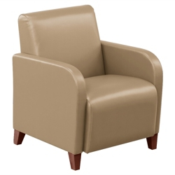 Vinyl Club Chair, 75431-1