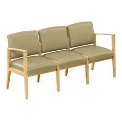 Ridgewood Vinyl Three Seat Sofa, 75806