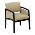 New Castle Oversized Fabric Panel-Arm Guest Chair, 75450