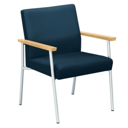 Uptown Oversized Guest Chair in Premium Upholstery, 75473