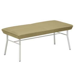 Uptown Two-Seat Bench in Premium Upholstery, 75482