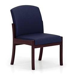Armless Fabric Guest Chair, 75496