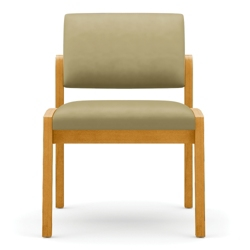New Castle Vinyl Armless Guest Chair, 75533