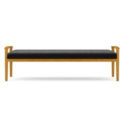Fabric Three-Seat Bench, 75553