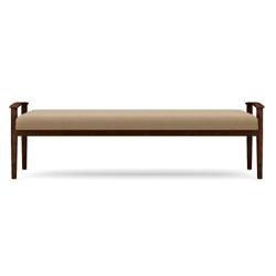 Vinyl Three-Seat Bench, 75575