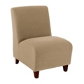 Armless Guest Chair in Vinyl, 75605