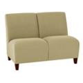 Vinyl Armless Two Seat Sofa, 75614