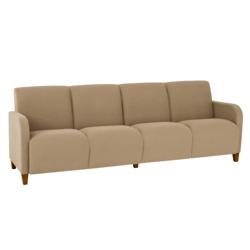 Vinyl Four Seat Sofa, 75619