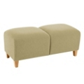 Two-Seat Bench in Vinyl, 75626
