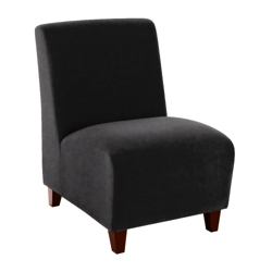 Armless Guest Chair in Fabric, 75880