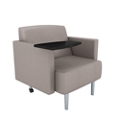 Vinyl Modern Tablet Arm Chair, 76001