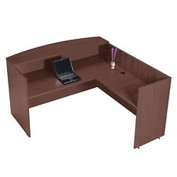 Reception L-Desk with Right Return, 76011