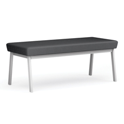 Two-Seat Bench in Anti-Microbial Vinyl, 76044