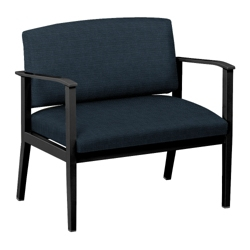 Mason Street Fabric Bariatric Guest Chair with Arms, 76086