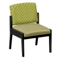 Mason Street Fabric or Polyurethane Guest Chair without Arms, 76093