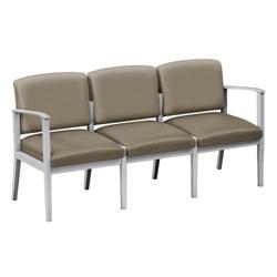 Mason Street Polyurethane Three-Seat Sofa, 76107