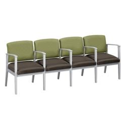 Mason Street Four-Seater With Center Arms, 76123