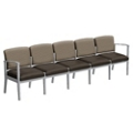 Mason Street Fabric and Vinyl Five Seater without Center Arms, 76128