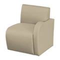 Synergy Collection Fabric Left Arm Chair, 76171