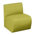 Synergy Collection Fabric Armless Chair, 76173