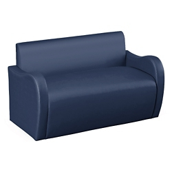 Synergy Collection Polyurethane or Combination Loveseat with Arms , 76189