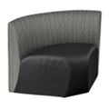 Synergy Collection Polyurethane or Polyurethane/Fabric Armless Corner , 76197