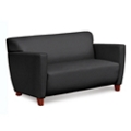 Edge Fabric or Fabric/Poly Loveseat with Extra Thick Seat, 76213