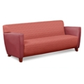 Edge Collection Fabric or Fabric/Polyurethane Sofa with Extra Thick Seat, 76214