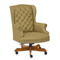 Monroe Fabric Wing Back Executive Chair, 76220