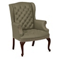 Monroe Fabric Wing Back Guest Chair, 76223