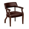 Monroe Leather Captains Guest Chair, 76228