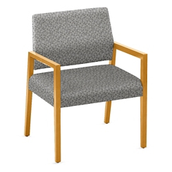 """Oversized Fabric Guest Chair - 26.5""""W x 23.5""""D, 76285"""