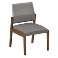 "Armless Fabric Guest Chair - 22.5""W x 23.5""D, 76286"