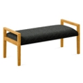 """Fabric Two Seat Bench - 48""""W x 20.5""""D, 76289"""