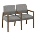 """Fabric Two Seat Sofa with Center Arms - 43.5""""W x 23.5""""D, 76290"""