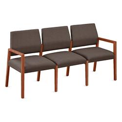 """Fabric Three Seat Sofa - 64.5""""W x 23.5""""D, 76292"""