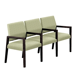 """Fabric Three Seat Sofa with Center Arms - 64.5""""W x 23.5""""D, 76294"""
