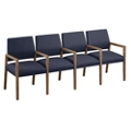 """Fabric Four Seat Sofa with Center Arms - 85.5""""W x 23.5""""D, 76295"""