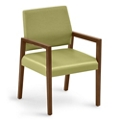 """Polyurethane or Fabric/Poly Combination Guest Chair - 22.5""""W x 23.5""""D, 76301"""