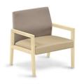 """Polyurethane or Fabric/Polyurethane Lounge Chair - 27""""W x 28.5""""D, 76304"""
