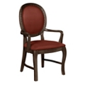 Round Back Dining Chair with Arms, 76356