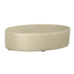 Oval Fully Upholstered Antimicrobial Vinyl Table , 76382