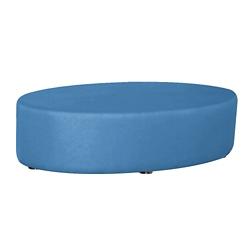 Oval Fully Upholstered Vinyl Table , 76404